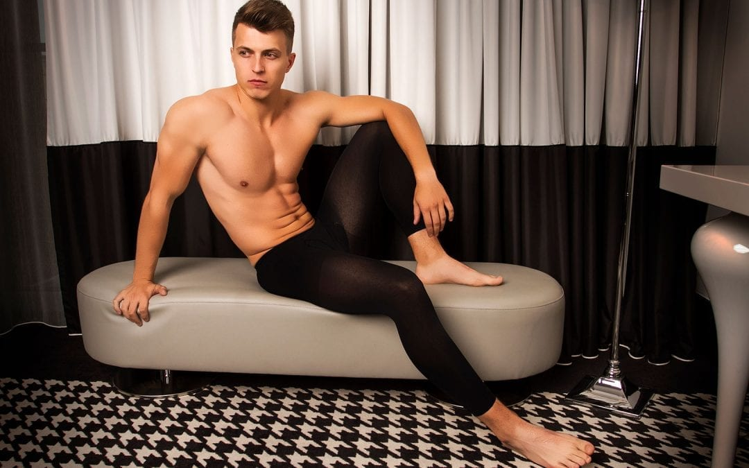Tights for men glamory thermoman 100 men's tights